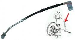 Przewód elastyczny przedniego zacisku hamulcowego LEWY Chrysler PT Cruiser