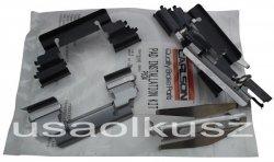 Zestaw montażowy tylnych klocków D795 Cadillac Escalade AWD 2001-2006