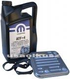 Olej MOPAR ATF+4 oraz filtr automatycznej skrzyni 4SPD Dodge Caravan AWD 2008-