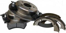 Tylne tarcze klocki oraz szczęki hamulcowe Mercury Mountaineer -2001