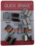 Zestaw montażowy przednich klocków hamulcowych Lincoln MKX
