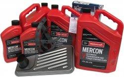 Filtr + olej Motorcraft Mercon V skrzyni biegów 4R100 Ford Econoline AWD -2008