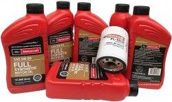 Oryginalny filtr oraz olej silnikowy Motorcraft 5W20 Full Synthetic Lincoln MKS