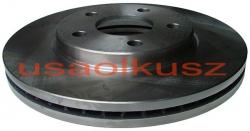 Przednia wentylowana tarcza hamulcowa Infiniti FX35 2006-2012