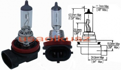 Żarówka świateł mijania Jeep Grand Cherokee 2011- H11 64211 55W