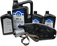 Olej MOPAR ATF+4 oraz filtry skrzyni biegów Mitsubishi Raider 4,7 V8