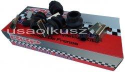 Zestaw montażowy klocków hamulcowych przednich Oldsmobile Silhouette 2002-2004