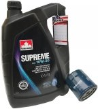 Filtr oleju oraz olej SUPREME 10W30 Pontiac Montana 3,4 V6