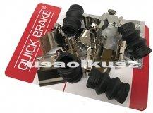 Zestaw montażowy tylnych klocków hamulcowych Lincoln MKX