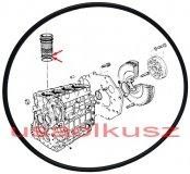 Oring uszczelniacz tulei cylindra 2,50mm Chrysler Voyager 2,5 CRD 46320532A