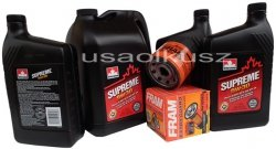 Olej 5W30 oraz filtr oleju silnika Chevrolet Silverado 2007-