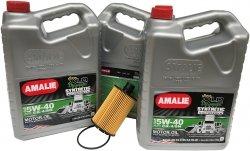 Filtr oraz olej silnikowy 5W-40 CJ-4 CK4 CK-4 CI-4 MS-10902 RAM 1500 3,0 CRD TD 2014-