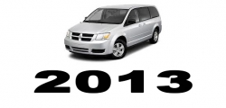Specyfikacja Dodge Caravan 2013