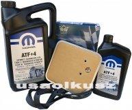 Olej MOPAR ATF+4 oraz filtr oleju skrzyni biegów 42RE Jeep Comanche