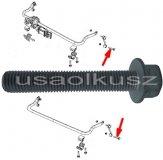 Śruba mocująca łącznik stabilizatora Jeep Wrangler JK 2007-
