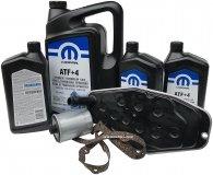 Olej MOPAR ATF+4 oraz filtry skrzyni biegów Dodge Durango AWD 2000-2009