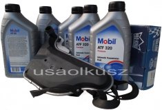 Filtr oraz olej skrzyni biegów Mobil ATF320 Buick LaCrosse