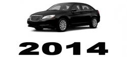 Specyfikacja Chrysler 200 2014