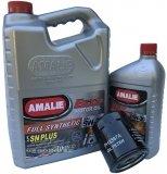 Filtr oraz syntetyczny olej AMALIE 5W30 Buick LaCrosse 3,8 V6