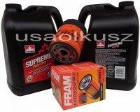 Filtr oleju oraz olej SUPREME 5W30 Buick Rainier 4,2