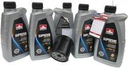 Filtr oleju oraz syntetyczny olej 10W30 Chrysler Voyager Town Country