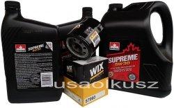 Filtr oraz mineralny olej 5W30 Chevrolet Equinox V6 2008-2010