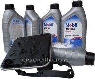 Filtr oraz olej skrzyni 4SPD Mobil ATF320 Dodge Neon
