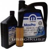 Olej MOPAR 5W30 oraz oryginalny filtr Dodge Durango 3,6 V6 -2013