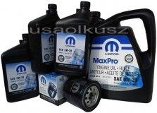 Oryginalny filtr oraz olej MOPAR 5W20 Dodge Durango 5,7 V8 2008-