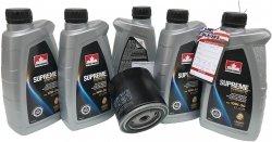 Filtr oraz syntetyczny olej 10W30 Chrysler Sebring V6 -2008