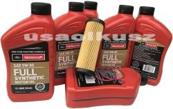Filtr olej 5W30 Full Synthetic MOTORCRAFT Ford Edge 2,7 V6