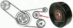 Rolka paska MICRO Chrysler Cirrus