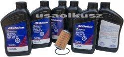 Filtr olej silnikowy 5W-30 Dexos2 Full Synthetic ACDelco Cadillac ATS 3,6 V6