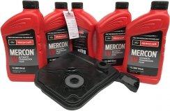 Filtr olej Motorcraft Mercon LV skrzyni biegów 6F35 Lincoln MKC 2015-