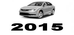 Specyfikacja Chrysler 200 2015