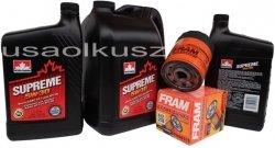 Filtr oleju oraz olej SUPREME 5W30 Buick LaCrosse 3,6 V6