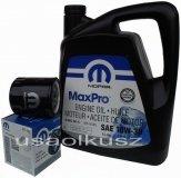 Oryginalny filtr oleju oraz olej MOPAR 10W30 Dodge Neon