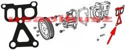 Uszczelka obudowy pompy wody Jeep Compass