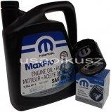 Olej MOPAR 5W20 oraz filtr oleju silnika Chrysler 300C V6 2009-