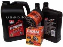 Olej 5W30 oraz filtr oleju silnika Pontiac Torrent 3,6 V6