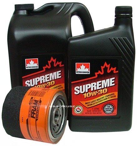 Filtr oleju FRAM PH16 oraz olej SUPREME 10W30 Jeep Comanche MJ 4,0
