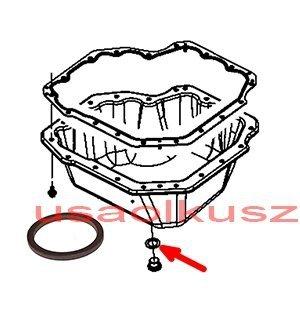 Podkładka korka spustu oleju silnika Jeep Wrangler JK 2,8 CRD 42020019A