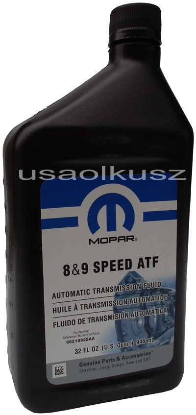 Mopar 8 And 9 Speed Atf