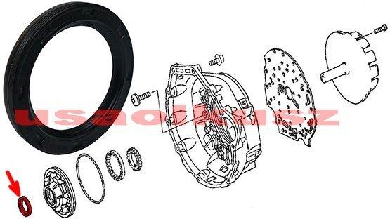 Uszczelniacz pompy oleju / konwertera skrzyni biegów NAG1 Jeep Wrangler JK 2011-