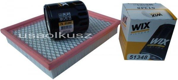 Filtr powietrza oraz filtr oleju silnika Chrysler Cirrus 2,0 / 2,4 16V