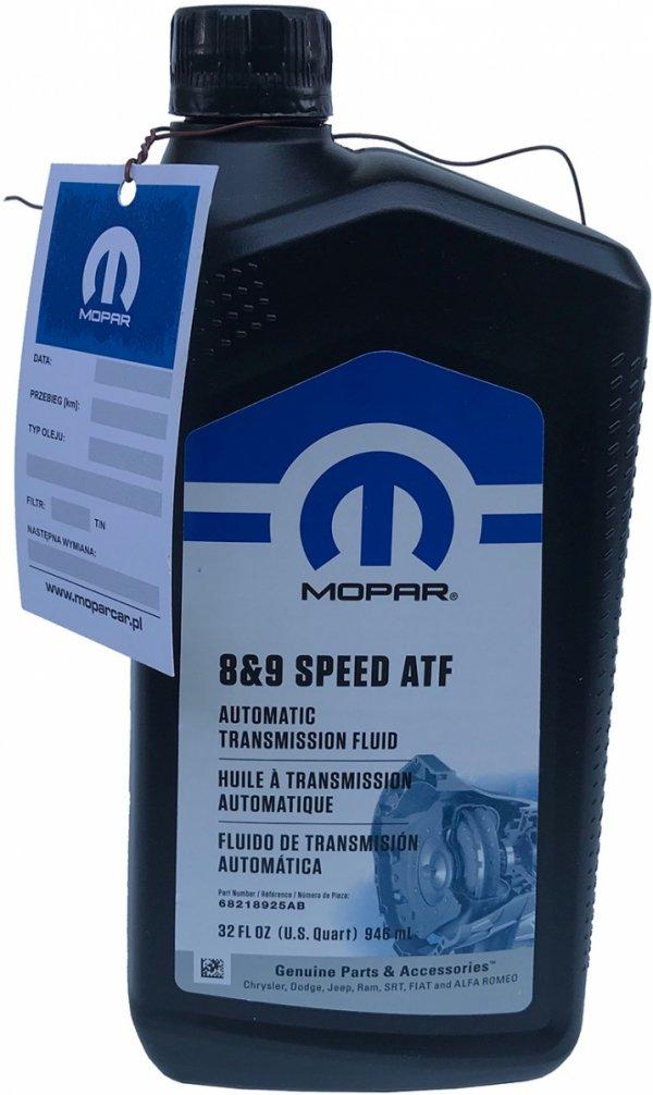 Olej automatycznej skrzyni biegów ZF 8HP / 9HP MOPAR