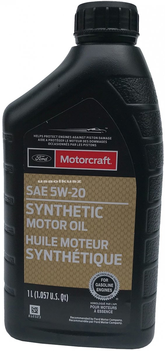 Full syntetyczny olej silnikowy Motorcraft 5W20 1l Lincoln Mercury