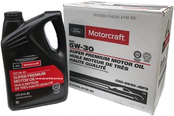 Syntetyczny olej silnikowy Motorcraft 5W30 4,73 Lincoln Mercury