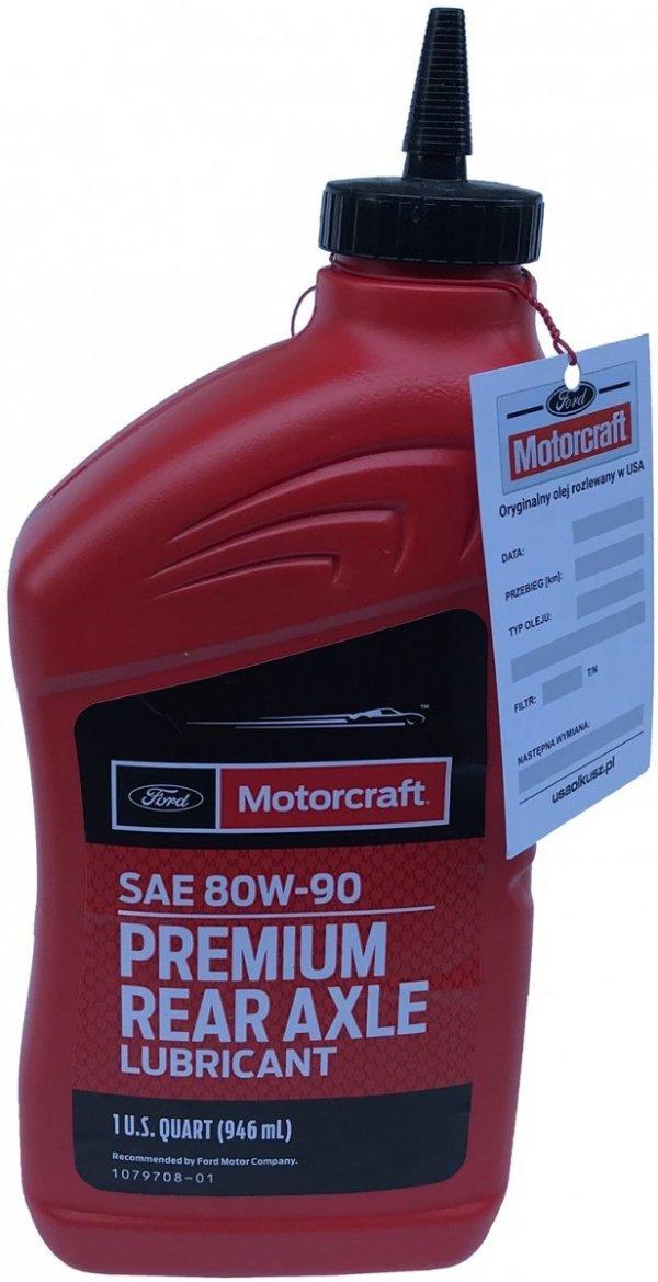 Olej tylnego mostu Motorcraft 80W-90 PREMIUM GL-5 1l Ford