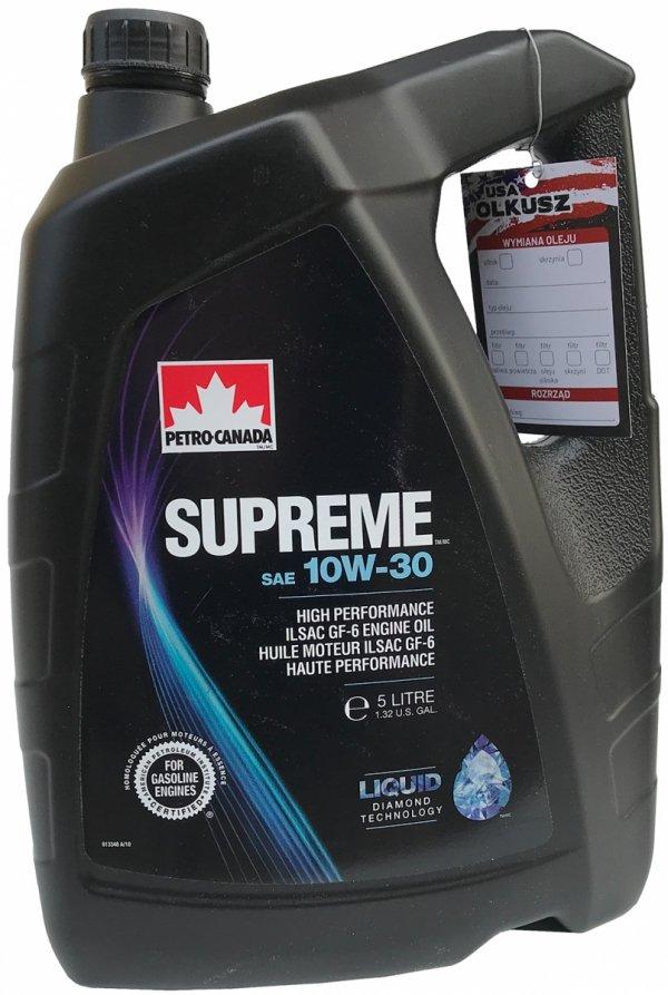 Olej silnikowy mineralny SUPREME 10W30 5L
